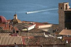 Cagliari gulf. Cagliari (Sardinia - Italy) Royalty Free Stock Images