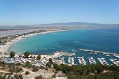Cagliari gulf Stock Photo