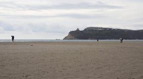 Cagliari: horizon op de heuvel - Sardinige Royalty-vrije Stock Foto's