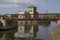 Cagliari: Idrovora of Rollo - Sardinia Royalty Free Stock Photos