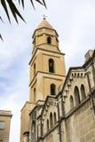Cagliari: a igreja de Santa Eulalia Fotos de Stock Royalty Free