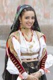 CAGLIARI, ITÁLIA - 1º de maio de 2014: procissão religiosa de 358 ^ de Sant'Efisio - Sardinia Imagens de Stock Royalty Free