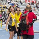 CAGLIARI, ITÁLIA - 4 de novembro de 2012: 5a maratona da metade - 4o Delio memorável Serra Fotografia de Stock Royalty Free