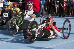 CAGLIARI, ITÁLIA - 4 de novembro de 2012: 5a maratona da metade - 4o Delio memorável Serra - Sardinia Foto de Stock Royalty Free
