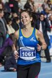 CAGLIARI, ITALIË - December 7, 2014: 7 ^ Halve Marathon - Herdenkingsdelio Serra Stock Fotografie