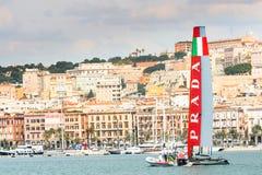 Cagliari, Italië, 8 Maart 2015: royalty-vrije stock foto's