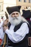 CAGLIARI, ITALIË - Mei 1, 2016: 360 ^ Feest van Heilige Efisio - Sardinige Stock Fotografie