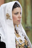 CAGLIARI, ITALIË - Mei 1, 2014: 358 ^ Godsdienstige Optocht van Sant'Efisio - Sardinige Stock Foto