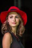 CAGLIARI, ITALIË - November 22, 2015: Ontdekking Extro (manier, haar en make-up) bij Fiera-Di Cagliari - Sardegna Stock Afbeelding