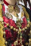 CAGLIARI, ITALIA - 1 de mayo de 2013: Procesión religiosa 357 del ` Efisio - Cerdeña de Sant Imágenes de archivo libres de regalías