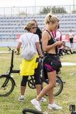 CAGLIARI, ITALIA - 4 novembre 2012: quinta mezza maratona - quarto Delio commemorativo Serra - Sardegna Fotografia Stock