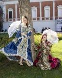 CAGLIARI ITALIEN - Maj 29, 2016: söndag på La stora Jatte VIII Ed , På de offentliga trädgårdarna - Sardinia Arkivbilder