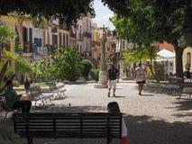 Castello quarter in Cagliari Royalty Free Stock Photography