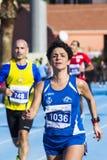 CAGLIARI, ITALY - December 7, 2014: 7 ^ Half Marathon - Memorial Delio Serra - Sardinia Royalty Free Stock Photos