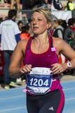 CAGLIARI, ITALY - December 7, 2014: 7 ^ Half Marathon - Memorial Delio Serra - Sardinia Royalty Free Stock Images