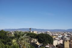 View of cagliari stock images