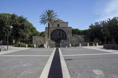 CAGLIARI: Kirche von San Saturnino - Sardinien Stockfotos