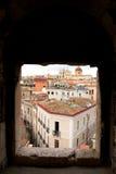 Cagliari. La Sardegna, Italia Fotografie Stock Libere da Diritti