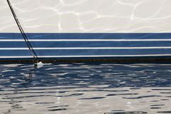 CAGLIARI: Marina Piccola Marina - Sardinige Stock Afbeelding