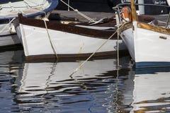 CAGLIARI: Marina Piccola Marina - Sardinige Royalty-vrije Stock Foto
