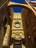 Cagliari old town royalty free stock photography