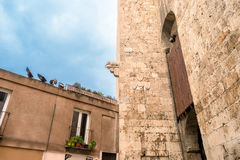 Cagliari, Olifantstoren Royalty-vrije Stock Foto's