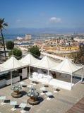 Cagliari panorama royalty free stock image