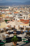 Cagliari panorama, Sardinia holidays Stock Images