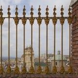 Cagliari - panorama van de buurtmarine Stock Foto