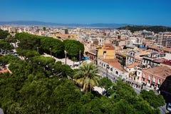 Cagliari panoramic view Stock Photography