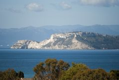 Cagliari - The promontory of Sant'Elia Royalty Free Stock Photography