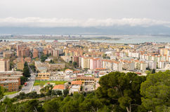 Cagliari, San Michele Royalty Free Stock Images
