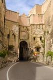 Cagliari, San Pancrazio Door Royalty Free Stock Photography