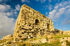 Cagliari Sant'Ignazio Fort fotografering för bildbyråer