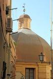 Cagliari, Sardegna island, Italy. Cityscape, Dome in Cagliari, Sardegna island, Italy stock photography