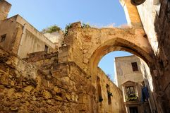 Cagliari Sardinia Royalty Free Stock Photos