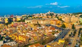 Cagliari - Sardinia, Italien Arkivfoton