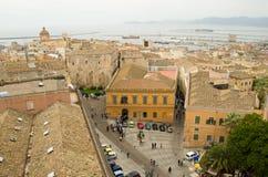 Cagliari, Sardinia, Italy. Urban landscape of the sardinian capital Stock Image