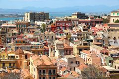 Cagliari, Sardinia, Italy Royalty Free Stock Photography