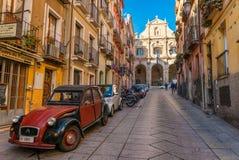 Cagliari, Sardinia -, Włochy Fotografia Royalty Free