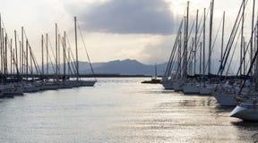 Cagliari: Su Siccu - Sardinige Stock Fotografie