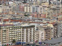Cagliari suburb houses Stock Photo