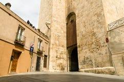 Cagliari, torre del elefante Fotos de archivo