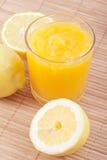 Cagliata di limone Immagini Stock Libere da Diritti