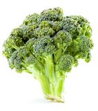 cagliata Primo piano dei broccoli Immagini Stock