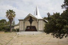 CAGLIIARI, ITALY - May 5, 20120 Church of Our Lady of Health - Sardinia Stock Photo