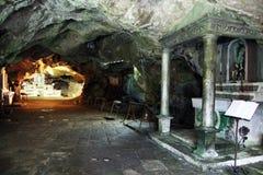 Cagnano varano grotto Royalty Free Stock Image