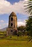 Cagsaua church, Legaspi. Historical Cagsaua  church ruins located in Legaspi, Philippines Stock Photos