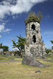 Cagsawa church ruins mayon volcano philippines Stock Image