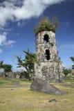 Cagsawa Kirche ruiniert mayon Vulkan Stockbild